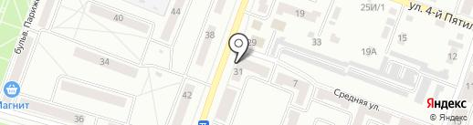 Колорит-Мебель на карте Каменска-Уральского
