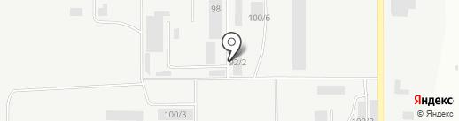 АвтоЛайф на карте Каменска-Уральского