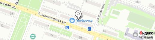 Тис на карте Каменска-Уральского