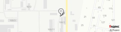 Торговый дом Кристалл на карте Каменска-Уральского