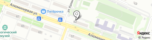 Миссис СПА на карте Каменска-Уральского