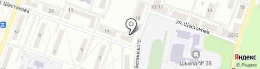 Строй-Меридиан на карте Каменска-Уральского