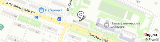 Визит на карте Каменска-Уральского