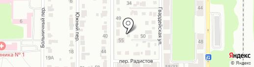 Автономия на карте Каменска-Уральского