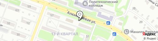 Юриком на карте Каменска-Уральского