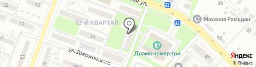 Веселые бабки на карте Каменска-Уральского
