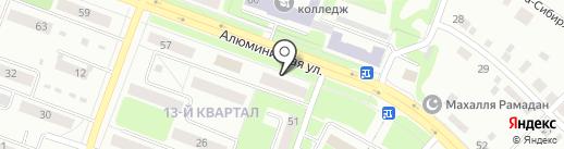 Юрист Дедов А.А. на карте Каменска-Уральского