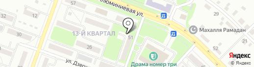 ЗВЕЗДНЫЙ на карте Каменска-Уральского