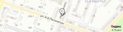 Лидер на карте Каменска-Уральского