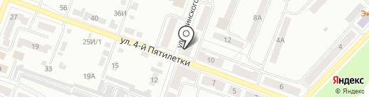 Фея на карте Каменска-Уральского