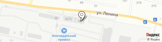 Японский грузовик на карте Каменска-Уральского