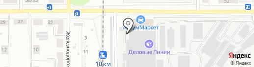 КИТ на карте Каменска-Уральского