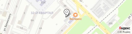 Амортизатор на карте Каменска-Уральского