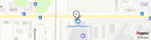 ПЕЧНОЙ на карте Каменска-Уральского