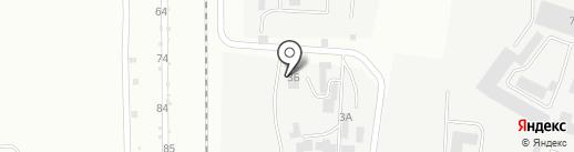 Лада-фаворит на карте Каменска-Уральского
