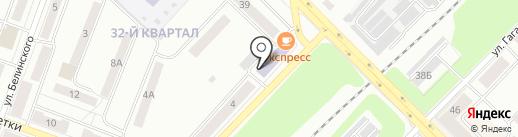 Городок на карте Каменска-Уральского