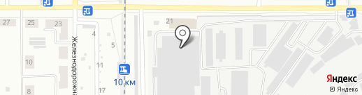 Деловые Линии на карте Каменска-Уральского