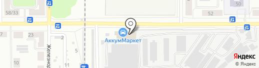 Электро на карте Каменска-Уральского