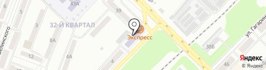 УрГЭУ-СИНХ на карте Каменска-Уральского