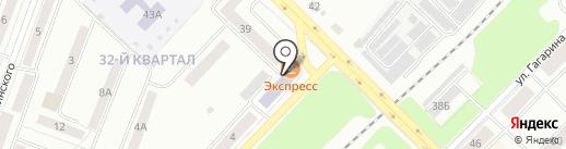 Каменск-Уральский центр подготовки кадров, НОЧУ на карте Каменска-Уральского