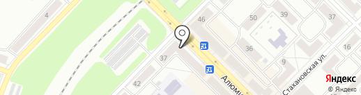 Магазин одежды на карте Каменска-Уральского