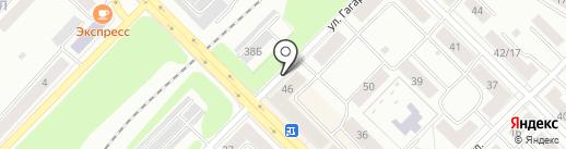 Пивмаг №1 на карте Каменска-Уральского