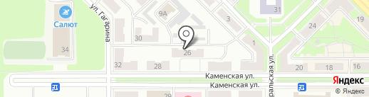 Бюрократ на карте Каменска-Уральского
