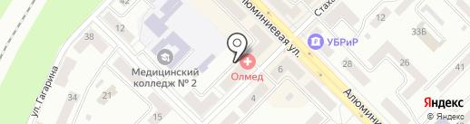 ЖЭУ №17 на карте Каменска-Уральского