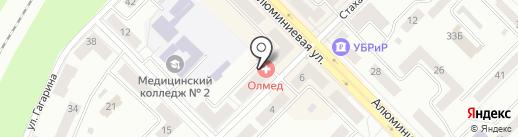Автомагазин деталей для ГАЗ на карте Каменска-Уральского