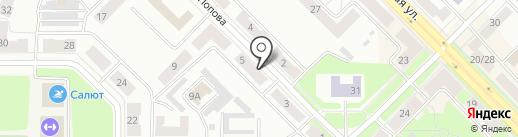 Мировые судьи Красногорского района на карте Каменска-Уральского