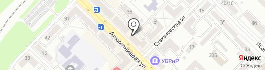 Драйв на карте Каменска-Уральского