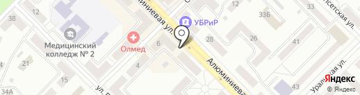 Магнат на карте Каменска-Уральского
