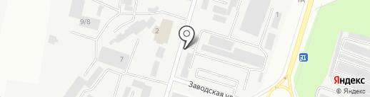 Служба заказа пассажирского легкового транспорта на карте Каменска-Уральского