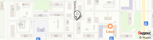 Чин@Авто на карте Каменска-Уральского