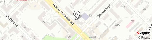 Купеческий на карте Каменска-Уральского
