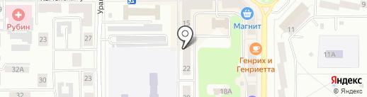 Мебельный мир на карте Каменска-Уральского