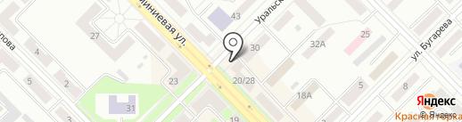 Галант на карте Каменска-Уральского