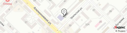 Эстель на карте Каменска-Уральского