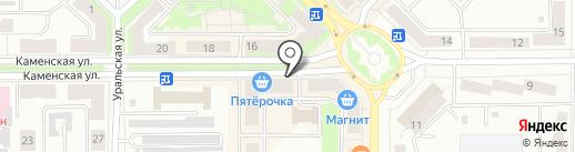 Комфорт+ на карте Каменска-Уральского