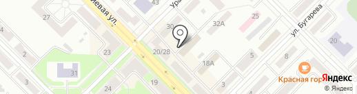 Красногорский районный суд на карте Каменска-Уральского