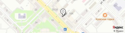 Магазин текстильных товаров на карте Каменска-Уральского