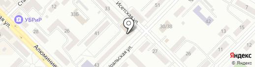 Центр психолого-медико-социального сопровождения на карте Каменска-Уральского