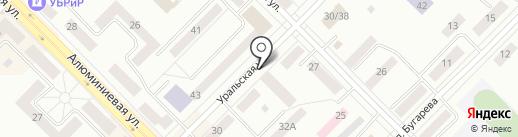 Мирра на карте Каменска-Уральского
