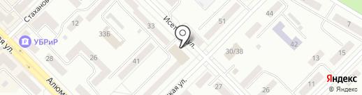 Спринт-авто на карте Каменска-Уральского