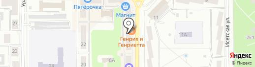 Каменская аптека на карте Каменска-Уральского