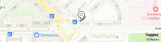 Банкомат, МТС-Банк, ПАО на карте Каменска-Уральского