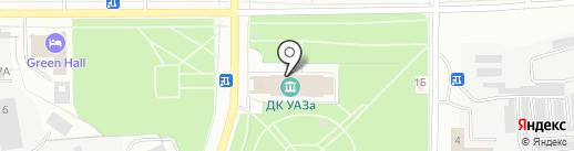 Светлячок на карте Каменска-Уральского