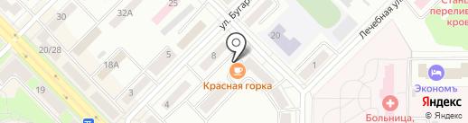 Красная горка на карте Каменска-Уральского