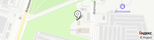 Богатырь на карте Каменска-Уральского