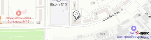 Санэко на карте Каменска-Уральского